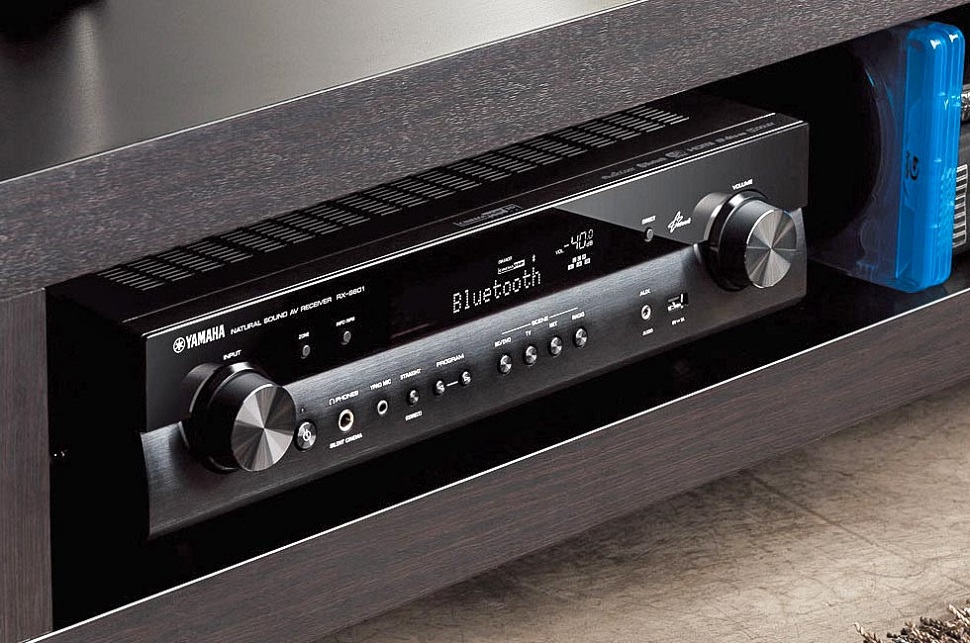 compact home theatre receiver